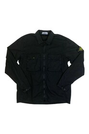 113WN Brushed Canvas 'Old' Effect Overshirt
