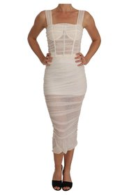 Stretch Bodycon Sheath Gown
