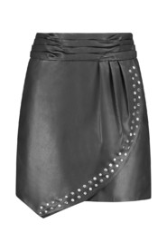 Leather Skirt N3-378