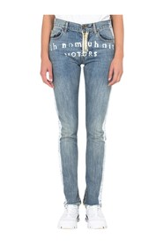 Jeans with Paint Detail