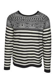 Blend 20705619 Pullover Svart/Off White