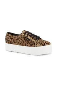 Leopardprint Superga sko
