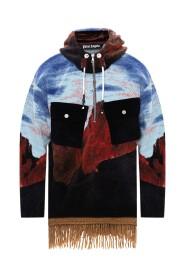 gedrukte hoodie