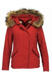 Short Winterjacket Ladies - Quilted Jacket - Red Winterjacket