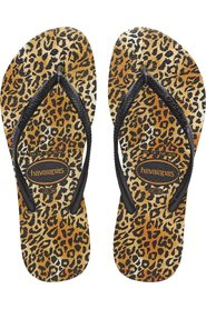 SLim Leopard Slippers