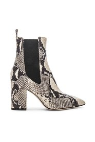 Ankle boot in python leather