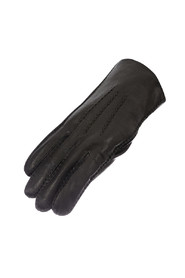 Men's gloves in leather w / for