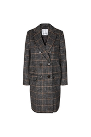 Pauie Wool Check Coat