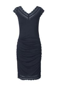 Dark Blue Rosemunde Dress Ss Kjoler