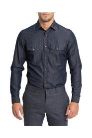 Patch Pocket Jean Shirt