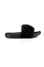 Sort Ugg W Royale-Black Sandal