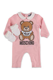 Teddy Bear sweatshirt romper