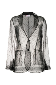 Point d'esprit blazer
