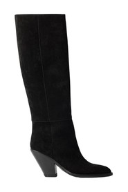 MEDIUM HEEL BOOT HIGH LEG