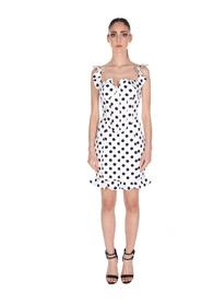 LVSH153DS01A DRESS WITH POLKA DOTS