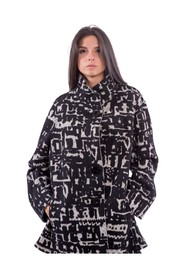Coat With Pattern - 8848F086M7