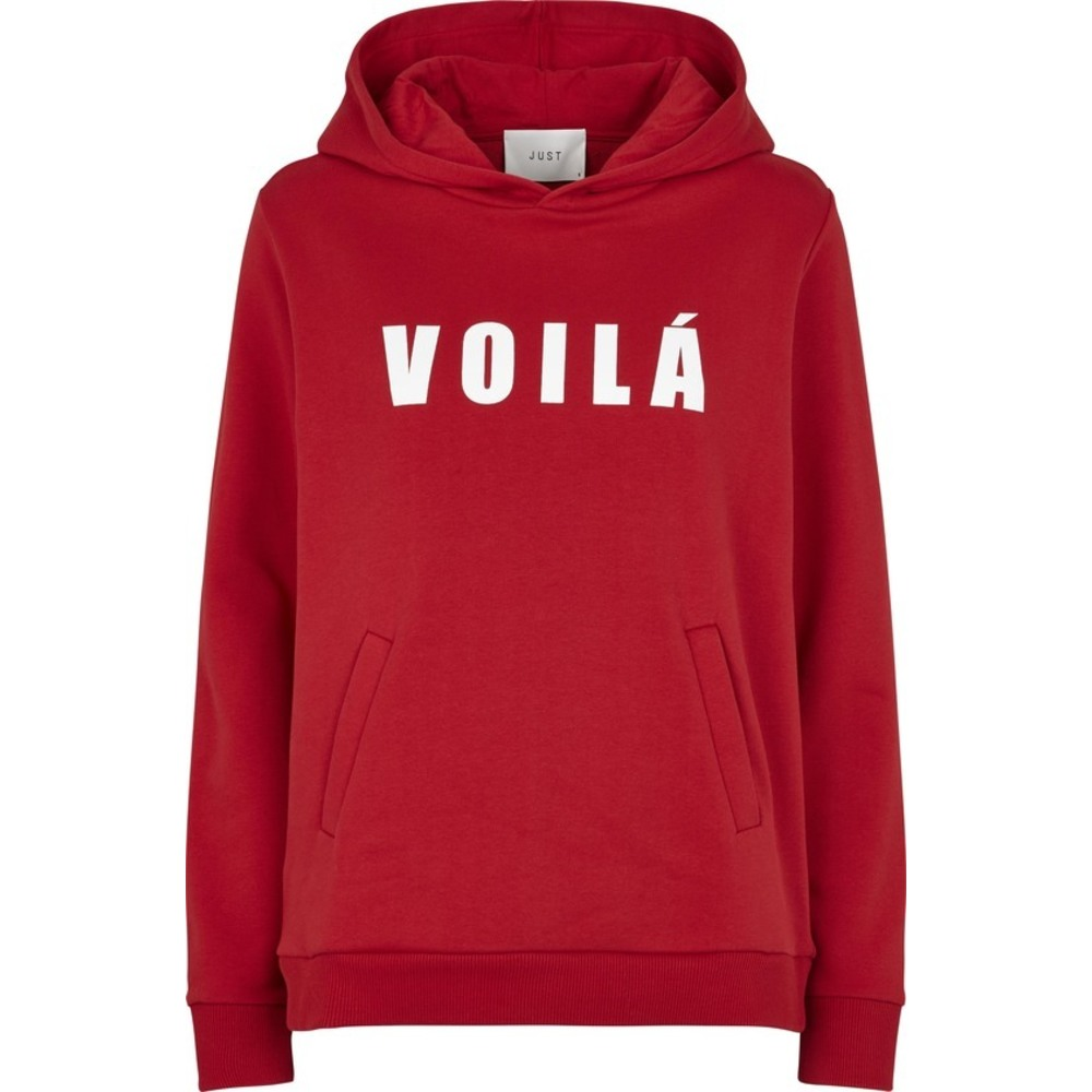 voila sweater red just female