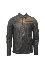 Leather Overshirt