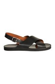 Birmanie leather sandales