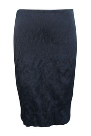 Knee Length Crumpled Skirt -Pre Owned Condition Excellent