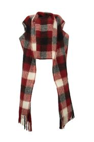 Large scarf with slits
