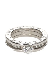 Diamond Paved 18 K B-Zero1 Ring Metal 18K