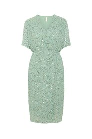 Midi dress Sequin-detail
