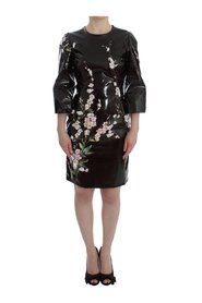 Floral 3/4 Sleeve sheath dress