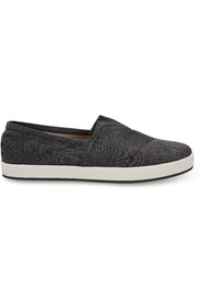 Black Chambray Toms Avalon Sneaker