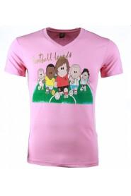 T-shirt - Football Legends Print