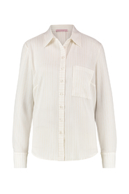 Studio Anneloes Blouse Carrie Offwhite/Gold Stripe XS