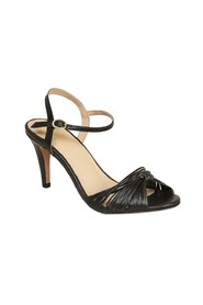 La Cosmique laminated leather sandals