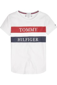 TOMMY HILFIGER KG0KG04592 ESSENTIAL TH T SHIRT AND TANK Girl BRIGHT WHITE