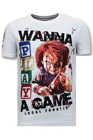 Exclusieve T-shirt  - Chucky Childs Play