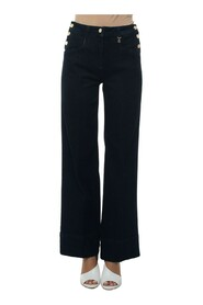 Laccato high waist jeans