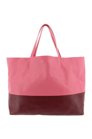 Horizontal Cabas Leather Tote Bag