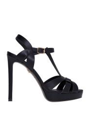 Sandalo con tacco 120 mm