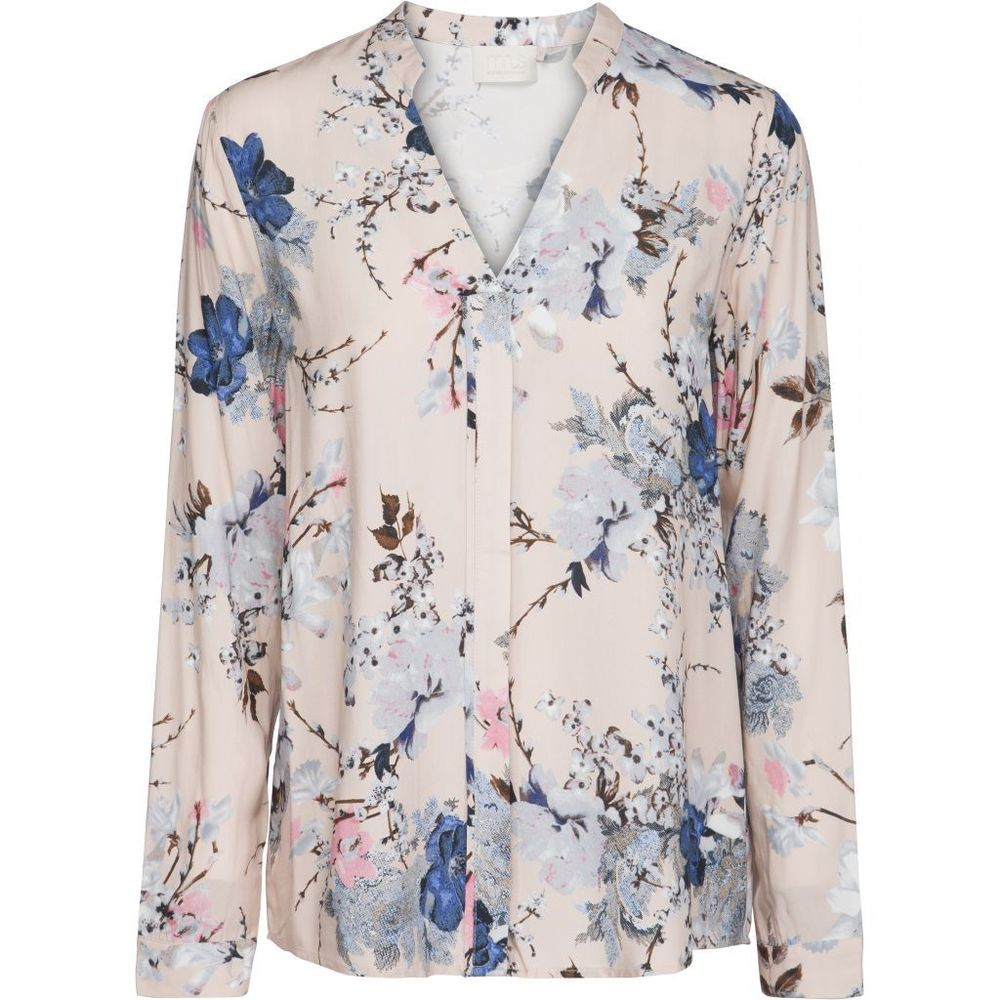 Kimber shirt - Flower branch print