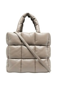 Padded quilted tote