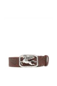 Belt with logo