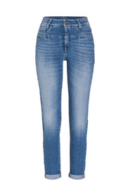 Blå Cambio Pearlie Jeans