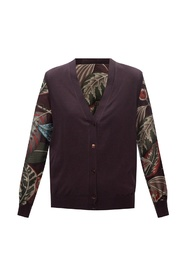 Cardigan with decorative elements