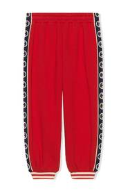 Jersey trousers w / GG trim