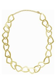 Textured Chain Shell Necklace