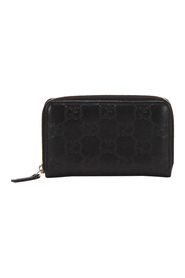 Pre-owned Guccissima Zip Around Long Wallet