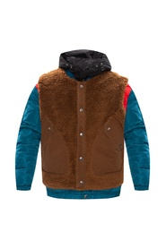 'W-Heroesy' jacket with detachable vest