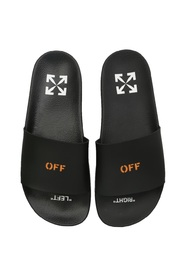 Rubber slides with logo