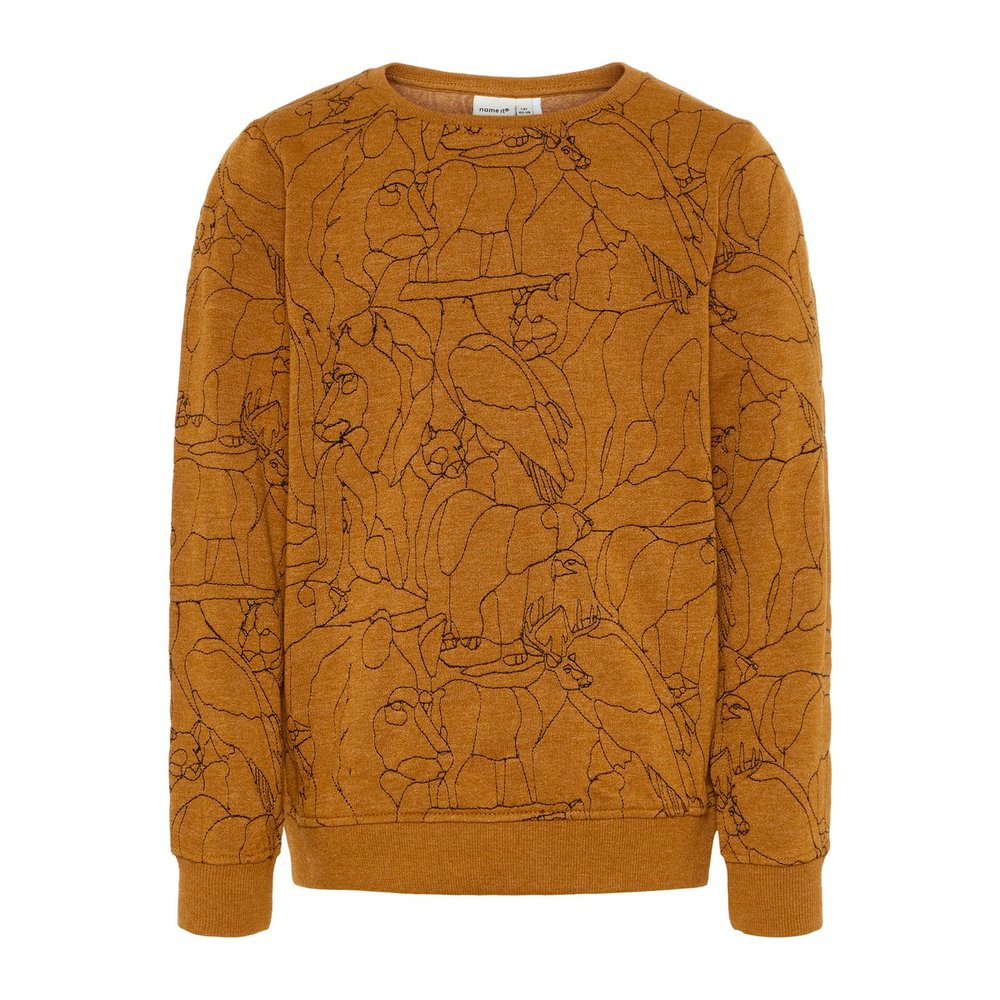 Sweatshirt gedessineerde