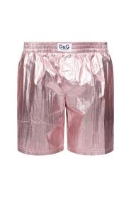 Metallic swim shorts