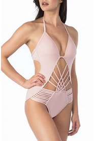 Swimwear One-Piece Strappy
